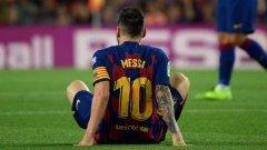 梅西左腿内收肌受伤,两年前曾缺席三周,恐缺席欧冠对阵国米
