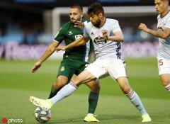 西甲第6轮:塞尔塔1-1西班牙人
