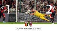 8 个月来首次,米兰在意甲联赛中逆转拿到胜利