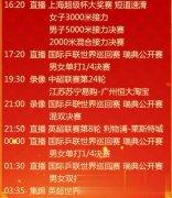 央视不直播许昕/刘诗雯混双决赛,选择播放中超录像