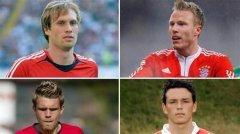 十年前拜仁德甲冠军成员都去哪里了?只有他们两个还在队中