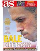 阿斯:贝尔不满落选欧冠名单,考虑明夏离队