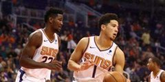 NBA季前赛:森林狼VS太阳 全新的
