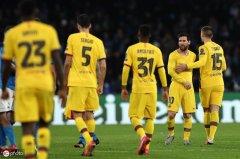 萎靡依旧!2平4负,巴萨欧冠淘汰赛近6次客战意甲球队难获一胜