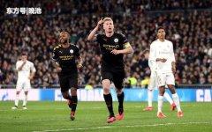 欧冠1/8决赛首回合战报,曼城2比1逆转皇马,英超拒绝4连败